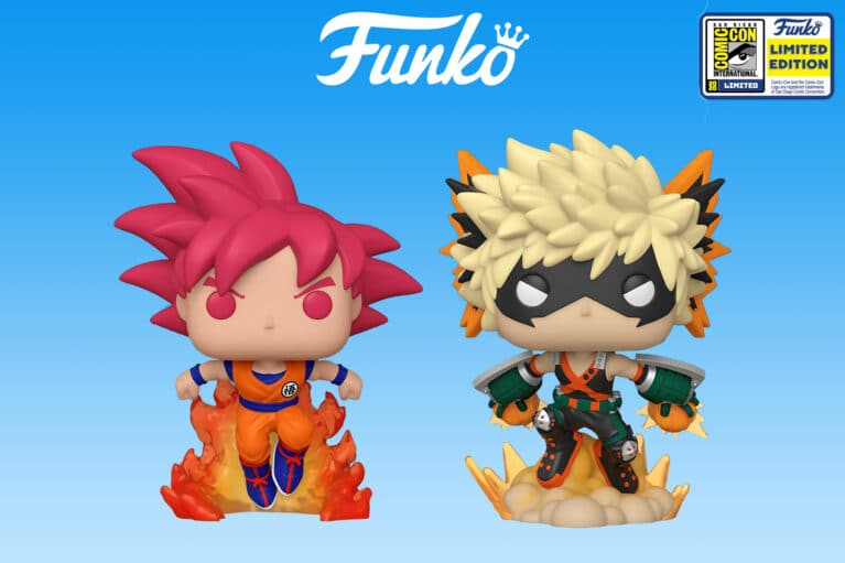 Funko SDCC 2020 Anime Exclusive Reveals