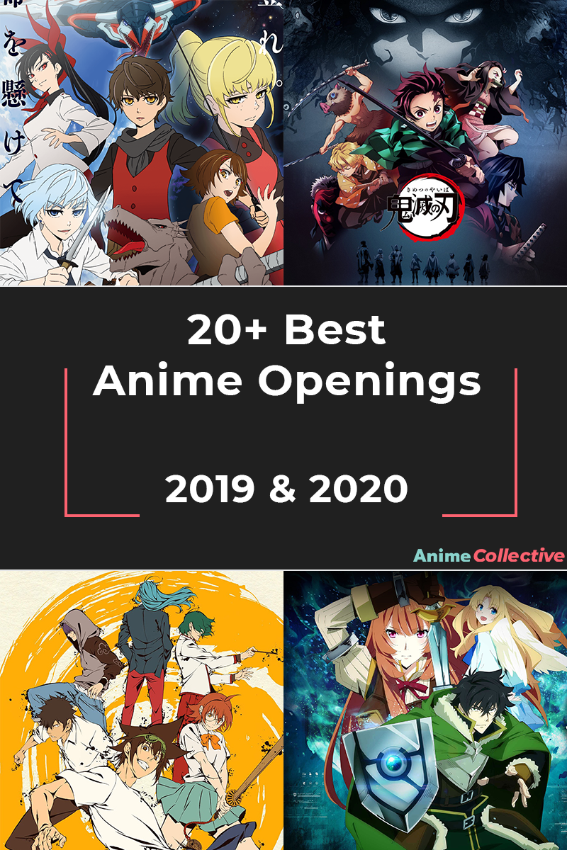 Best Anime Openings 2019 - 2020
