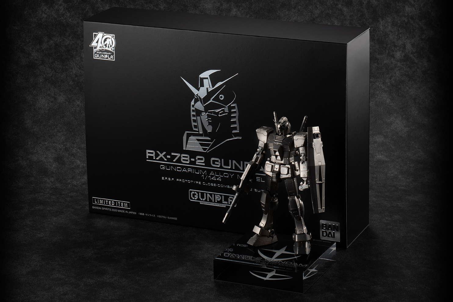 Bandai Spirits Crafts RX-78-2 Gundam Out of Gundarium Alloy