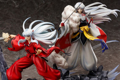 Hobby Max Inuyasha 1/7 Scale Figures Inuyasha and Sesshōmaru 1