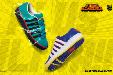 My Hero Academia Kswiss Collaboration Deku and All Might