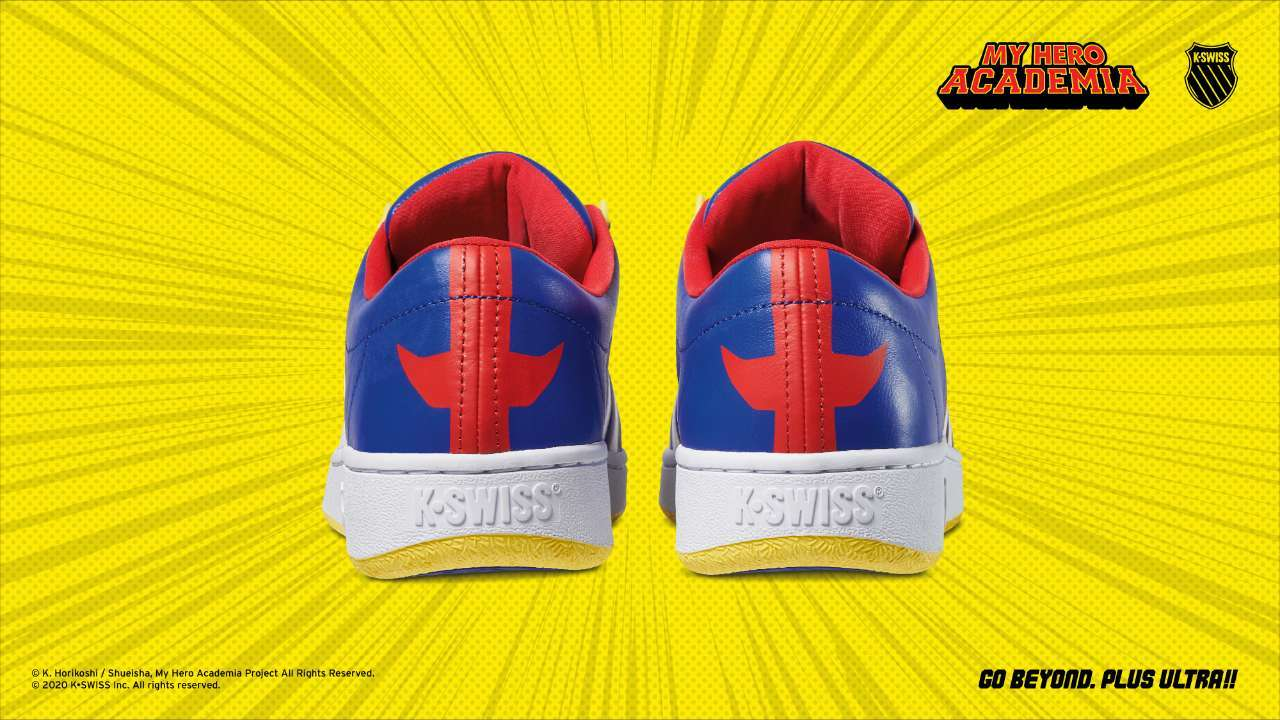 My Hero Academia Kswiss All Might Back View