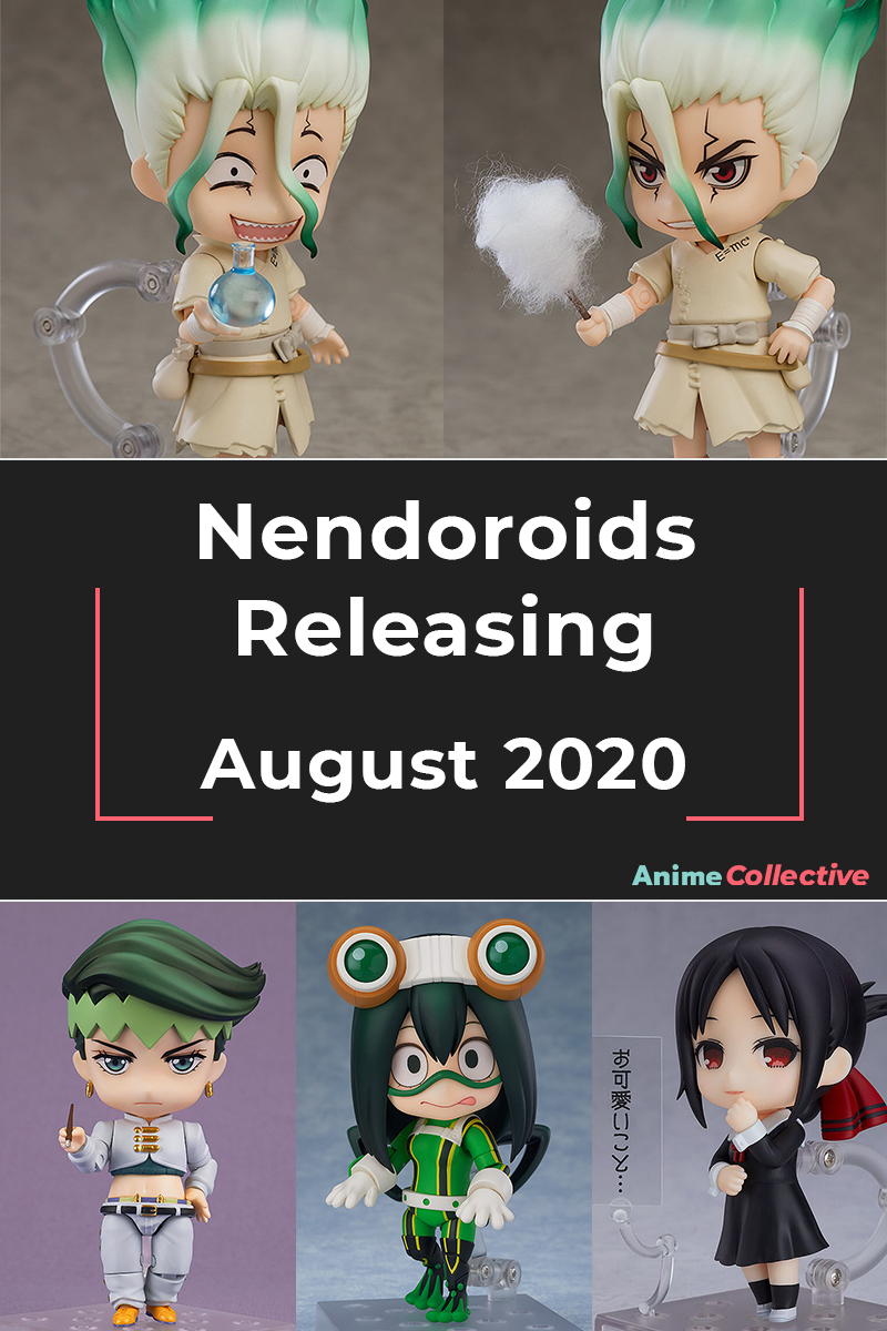 Nendoroids Releasing in August 2020