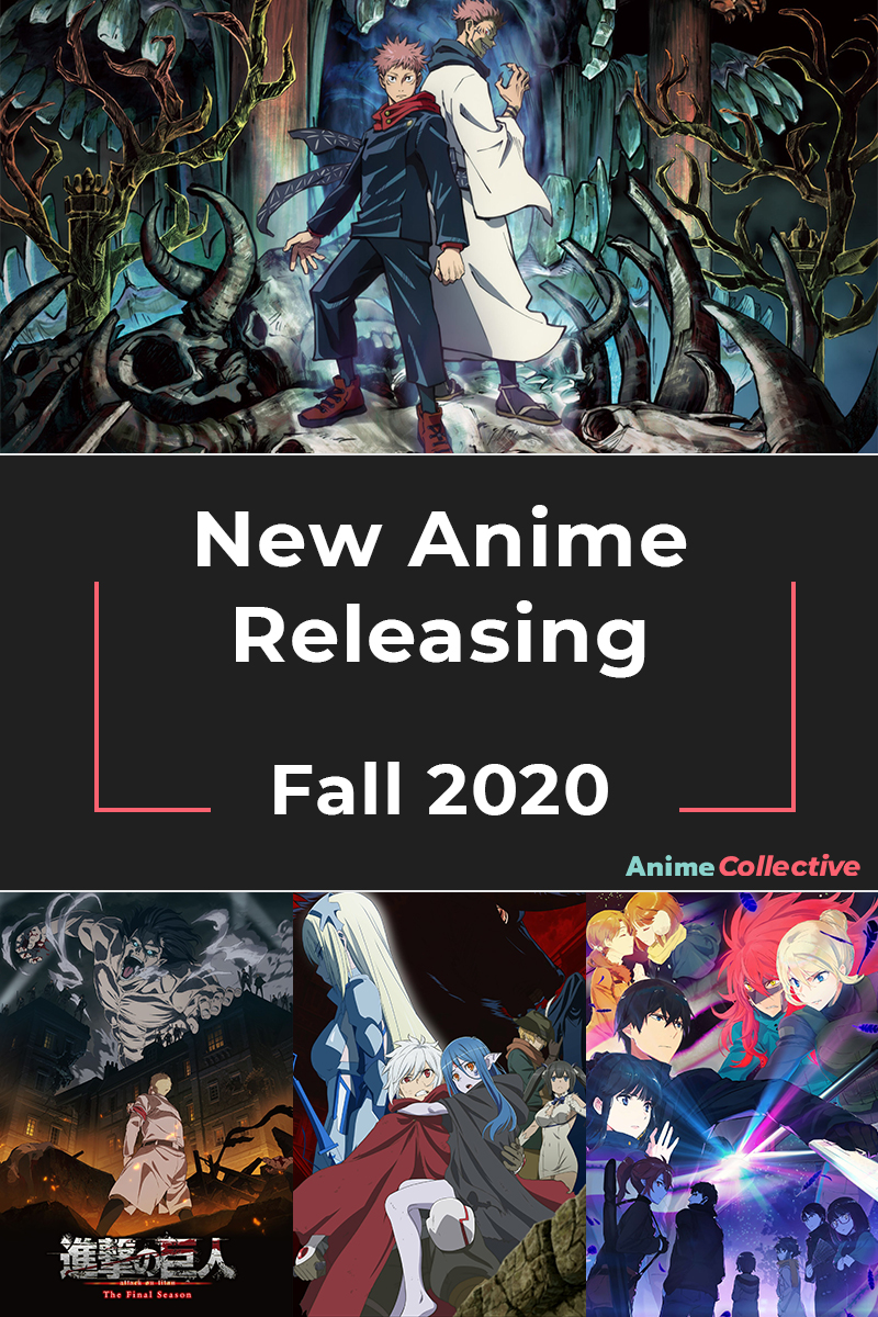 New Anime Coming Fall of 2020