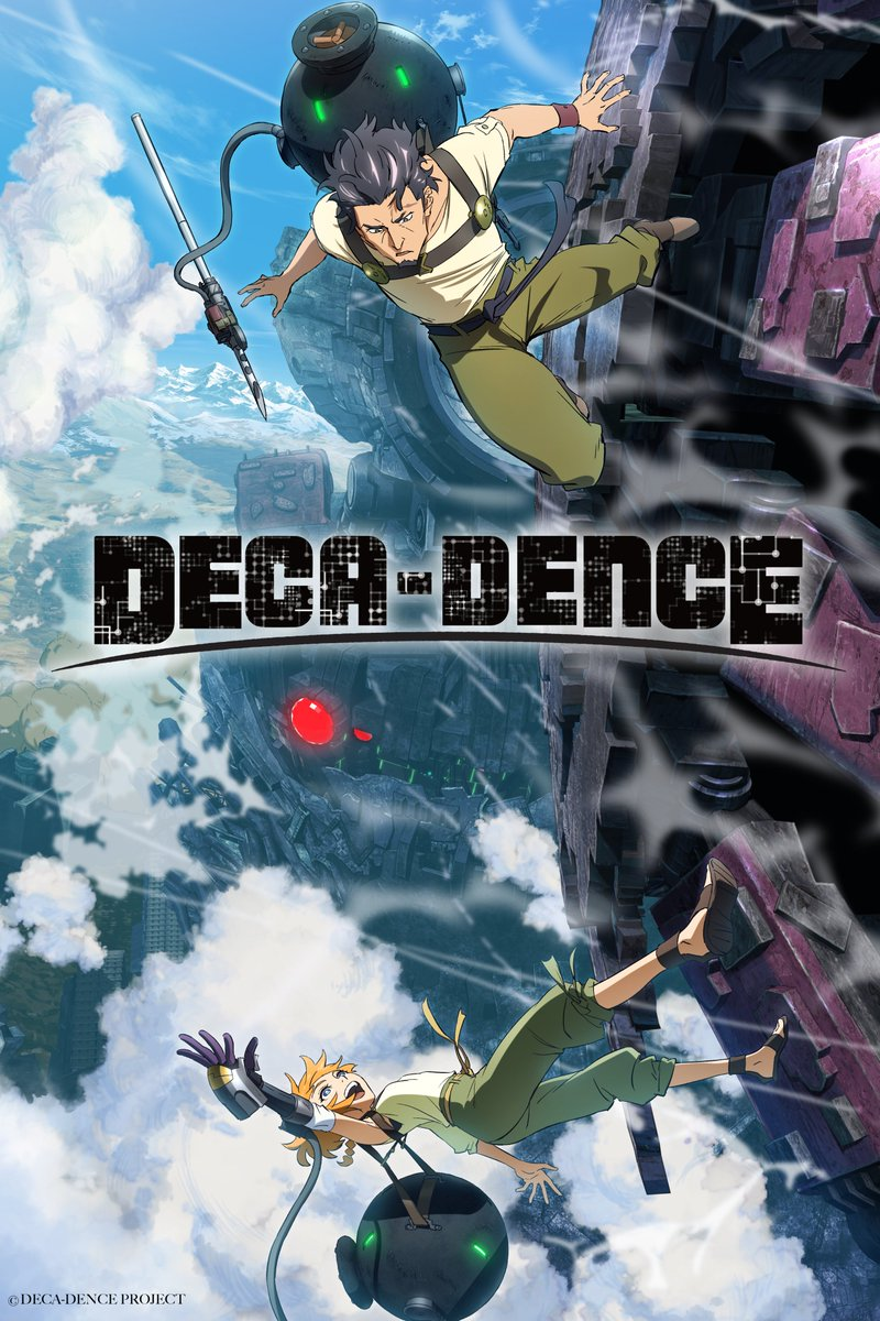 New Anime Funimation Summer 2020 - Deca-Dence