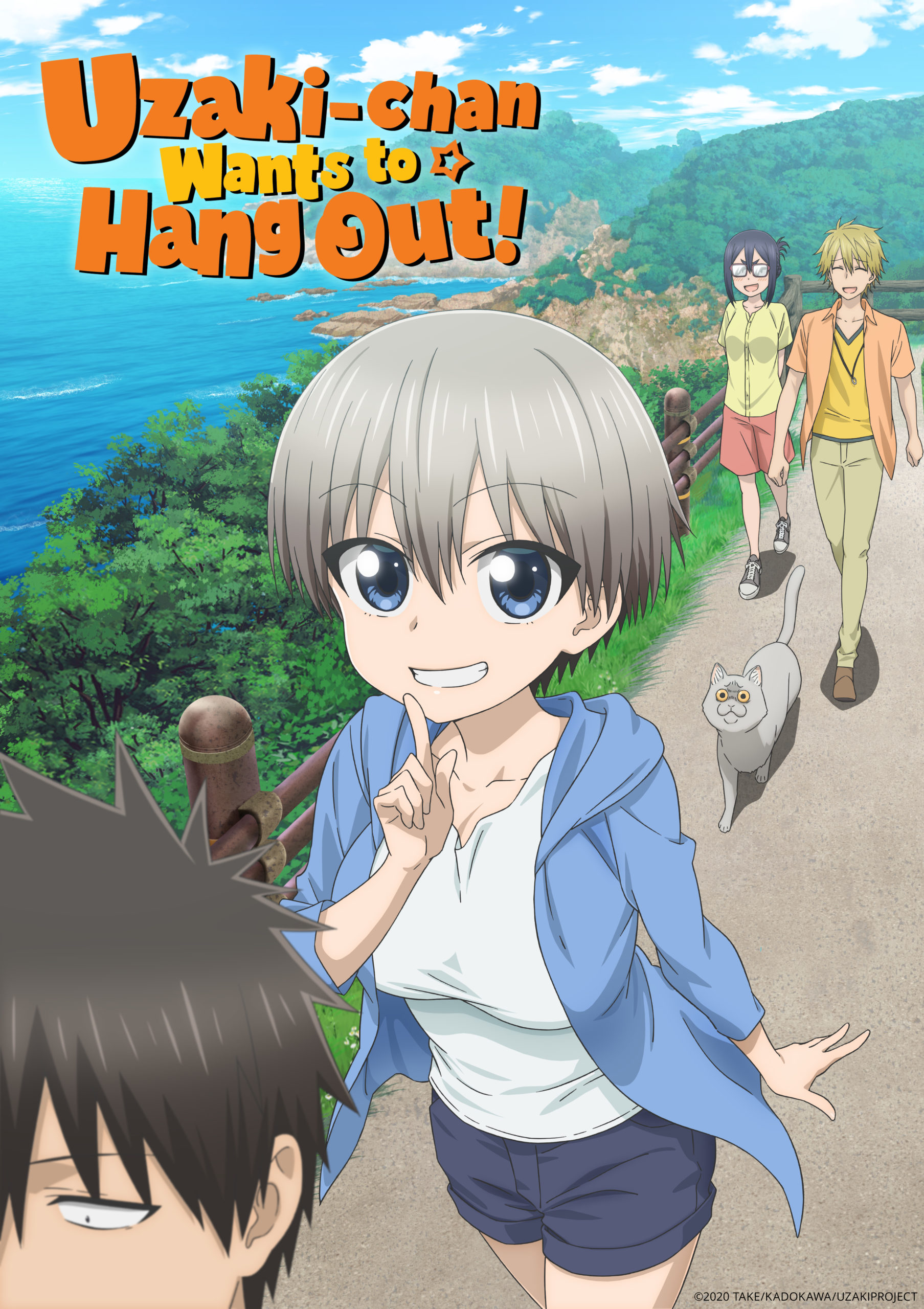 New Anime Funimation 2020 - Uzaki-Chan Wants to Hang Out!