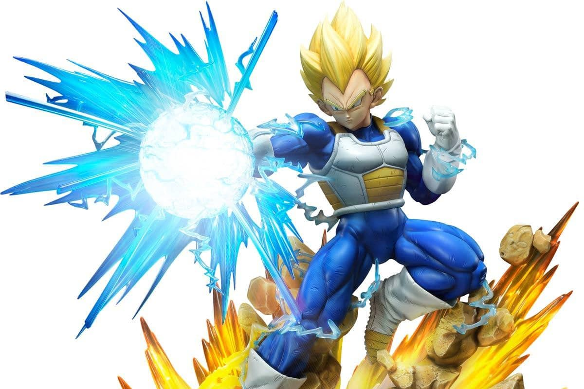 Prime 1 Studio x Megahouse Super Saiyan Vegeta Statue Available for Preorder Now