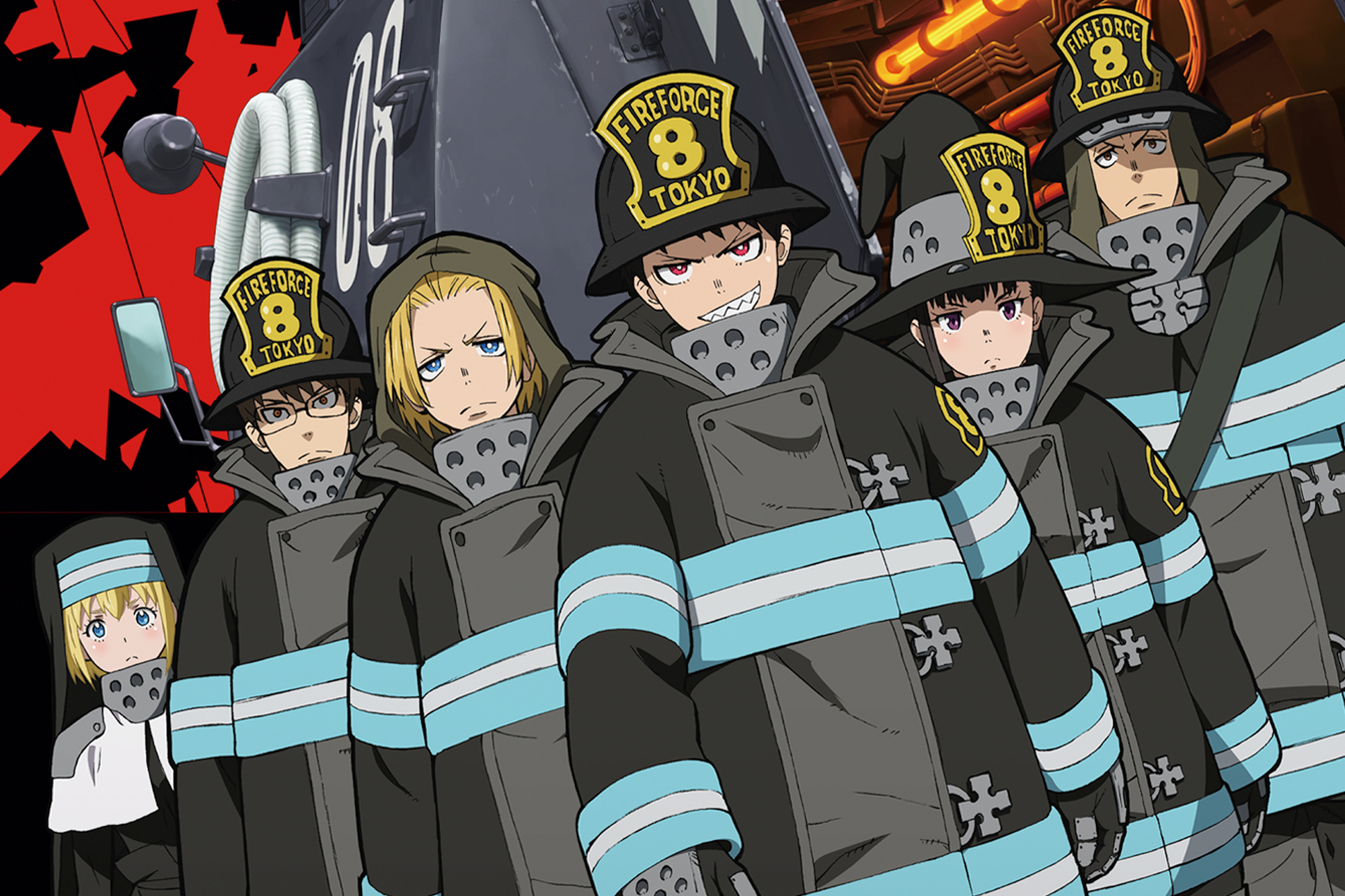 Best Anime of 2019- Fire Force