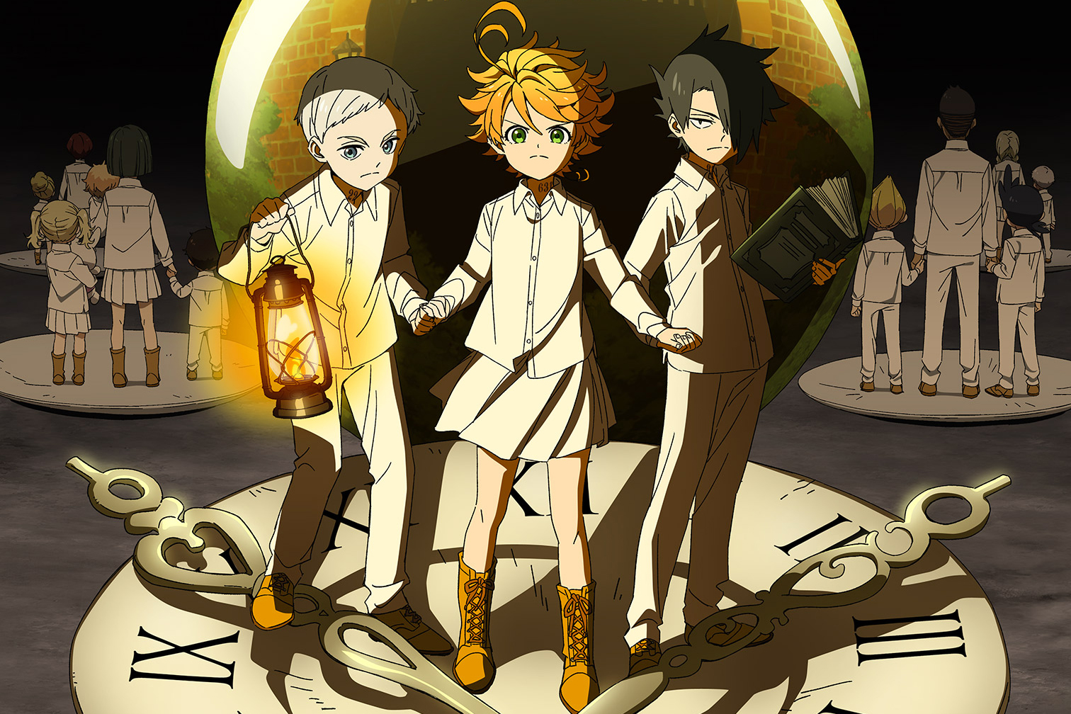 Best Anime of 2019 - The Promised Neverland