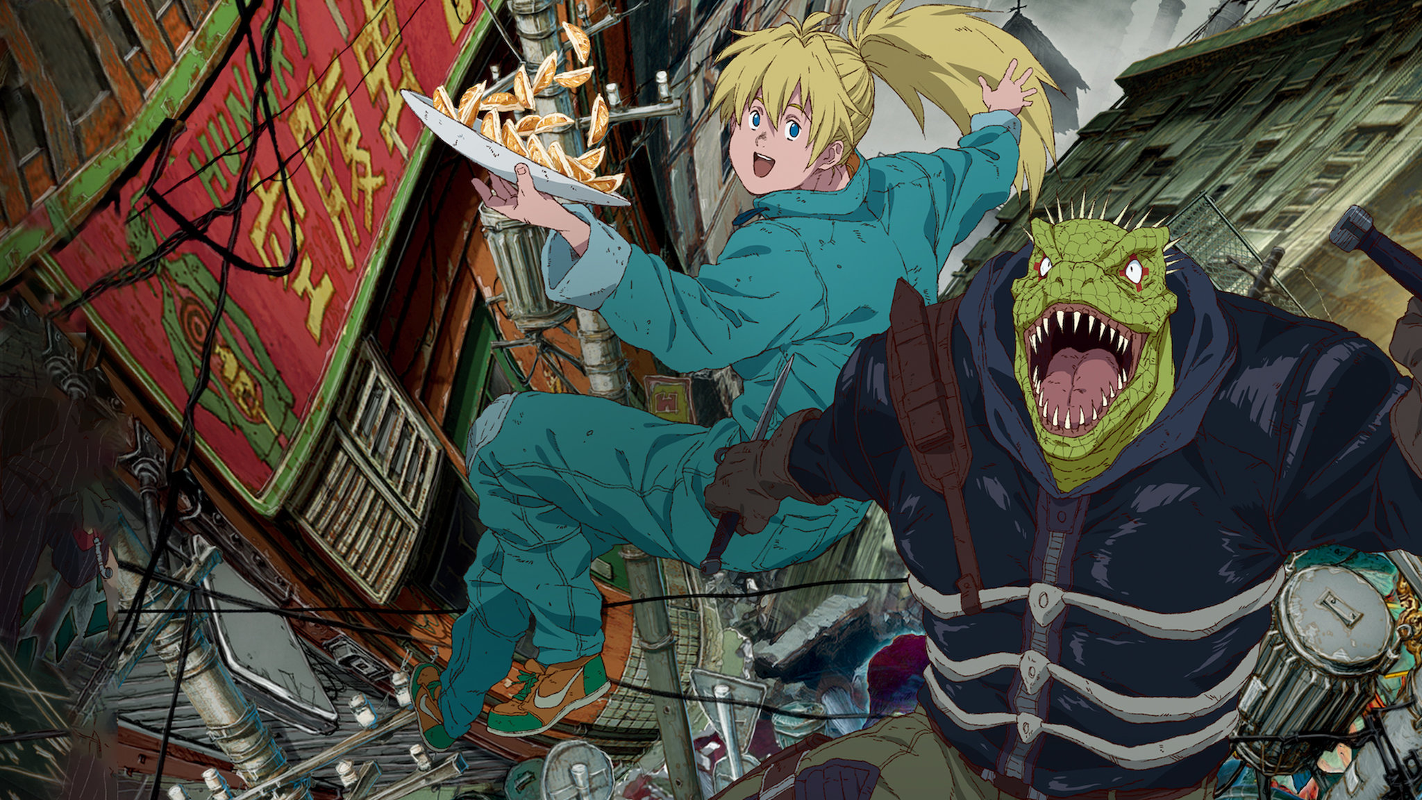 Best Anime of 2020 - Dorohedoro