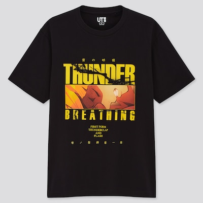 Demon Slayer Anime Uniqlo UT T-shirts 5