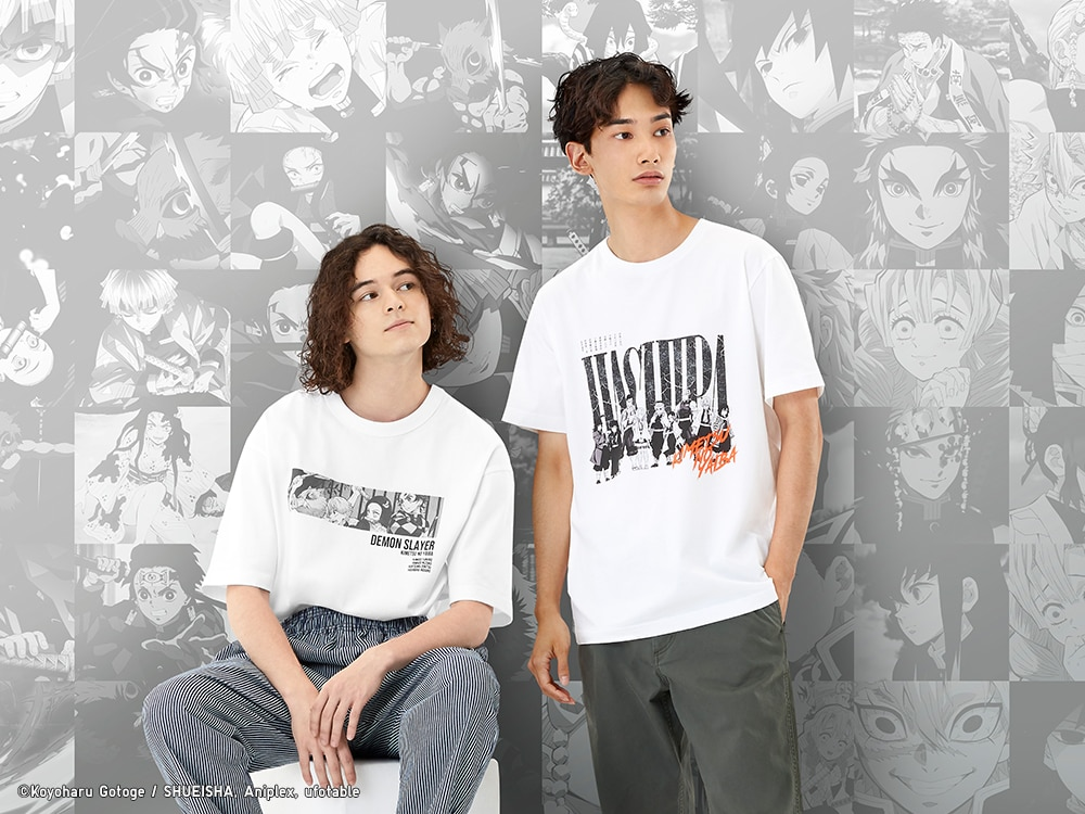 Demon Slayer Anime Uniqlo UT T-shirts