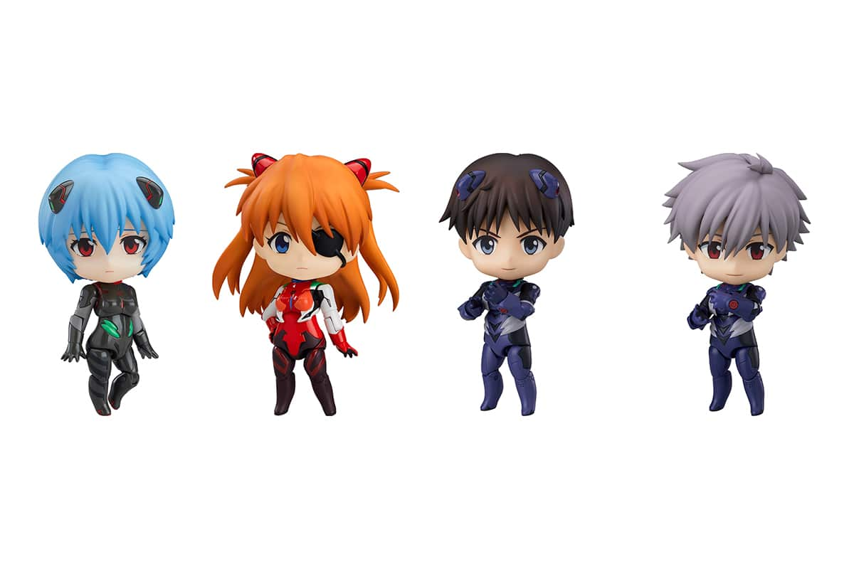 Rebuild of Evangelion Nendoroids Plugsuit Version
