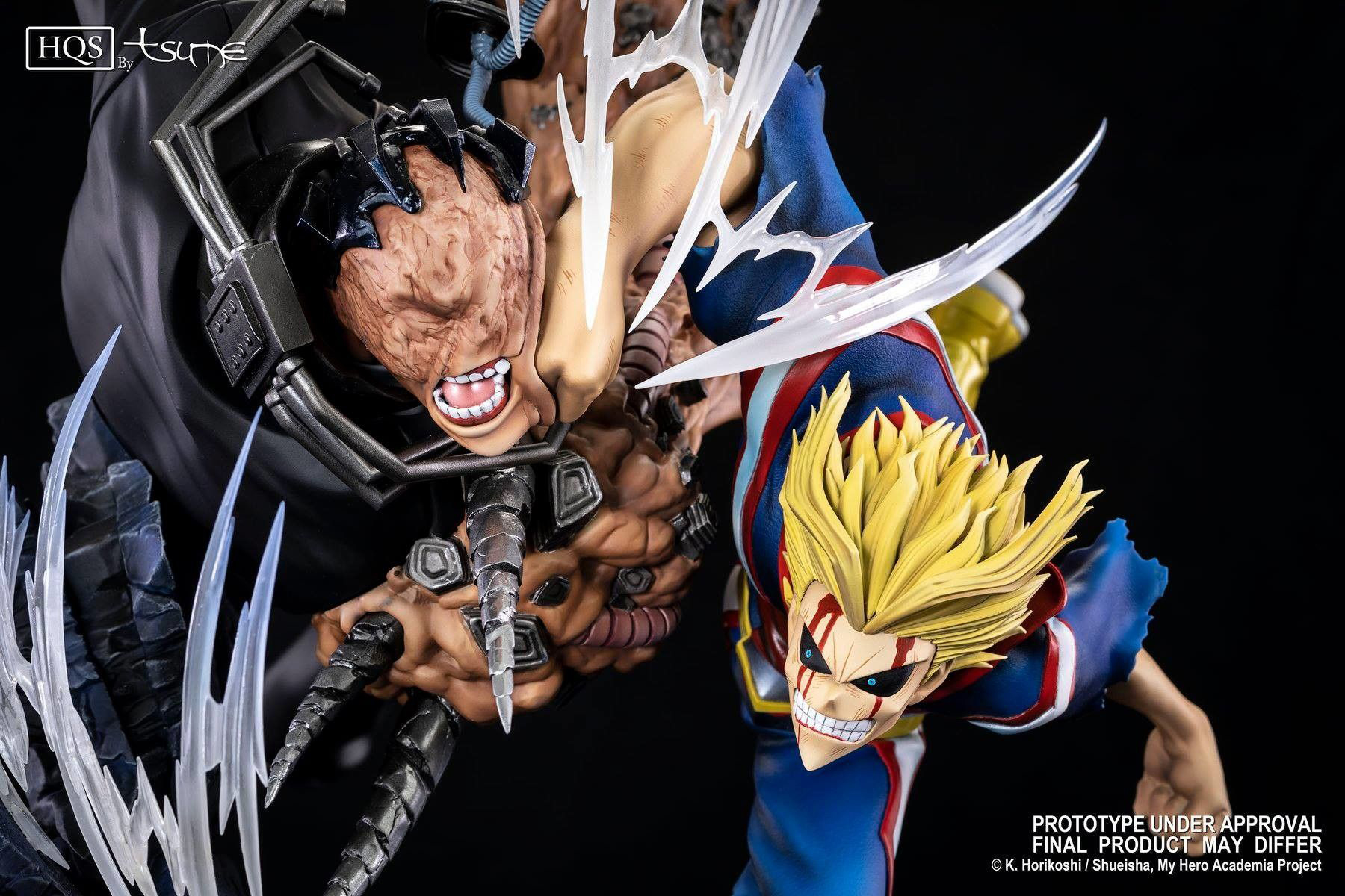 Best My Hero Academia Figures - My Hero Academia HQS United States of Smash Limited Edition Statue by Tsume