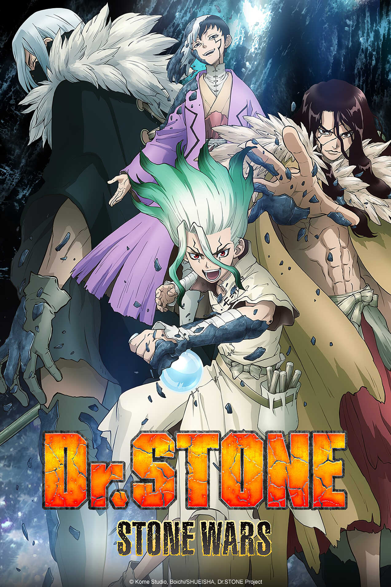 Dr. STONE: Stone Wars Anime 2021