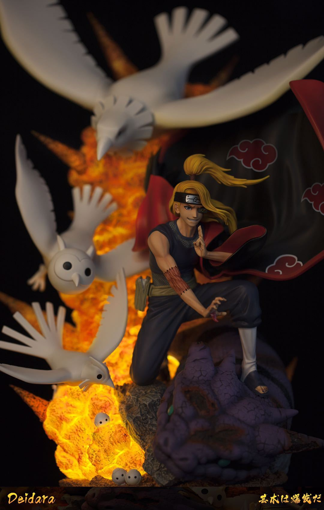 Clouds Studio Deidara 1/6 Scale Statue 3