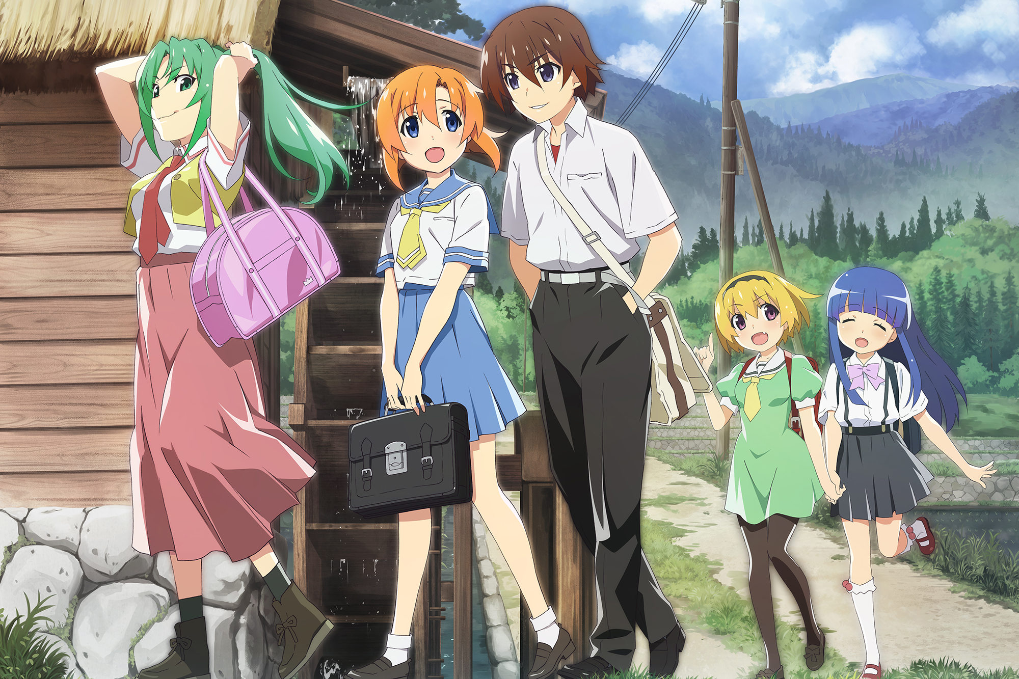 Our Favorite Anime Premieres of Fall 2020 So Far - Higurashi: When They Cry
