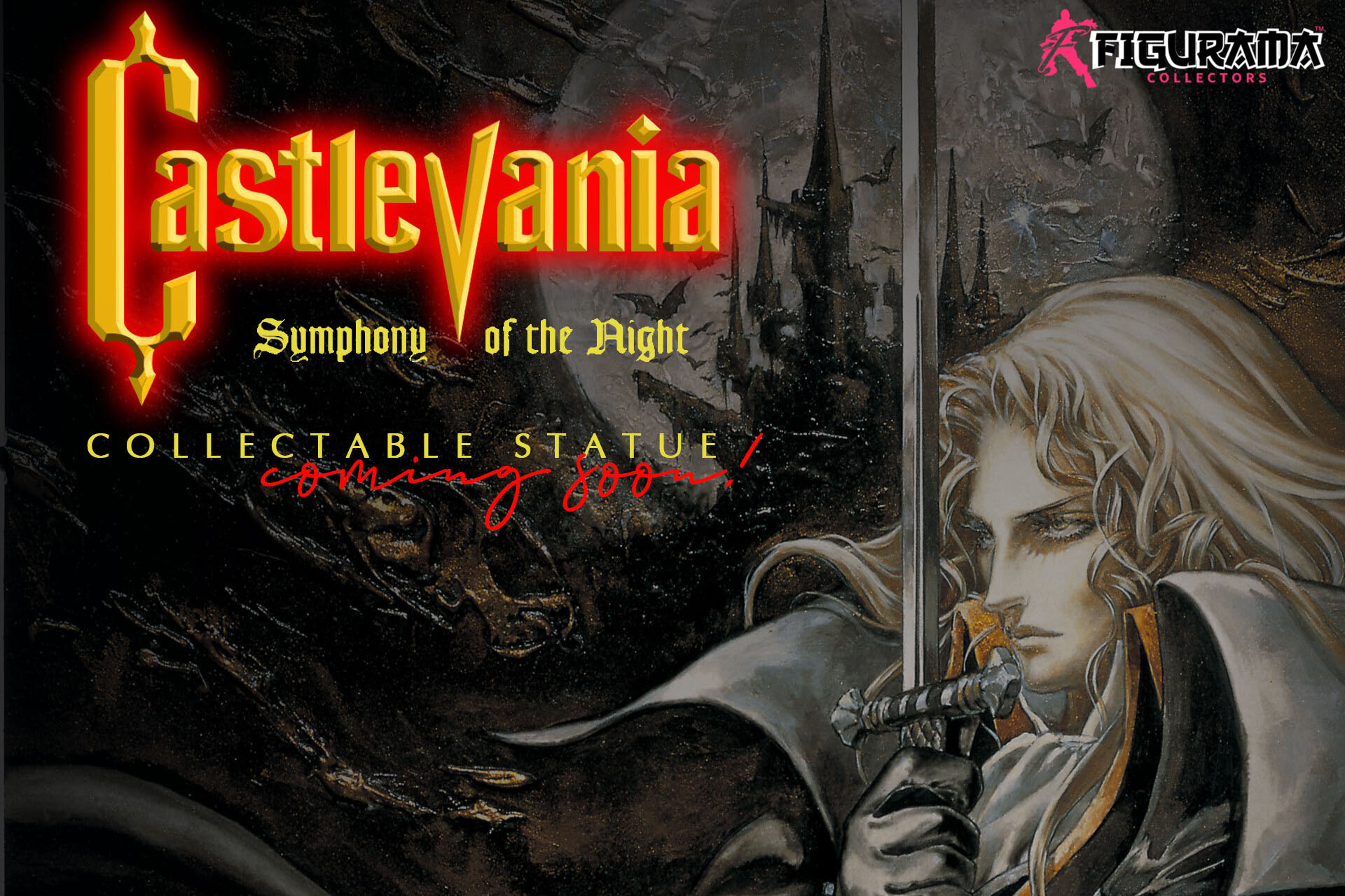 Figurama Announces License and Upcoming Statue for Castlevania: Symphony of the Night