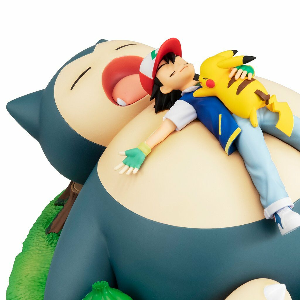 gem series pokemon bedtime with snorlax figure