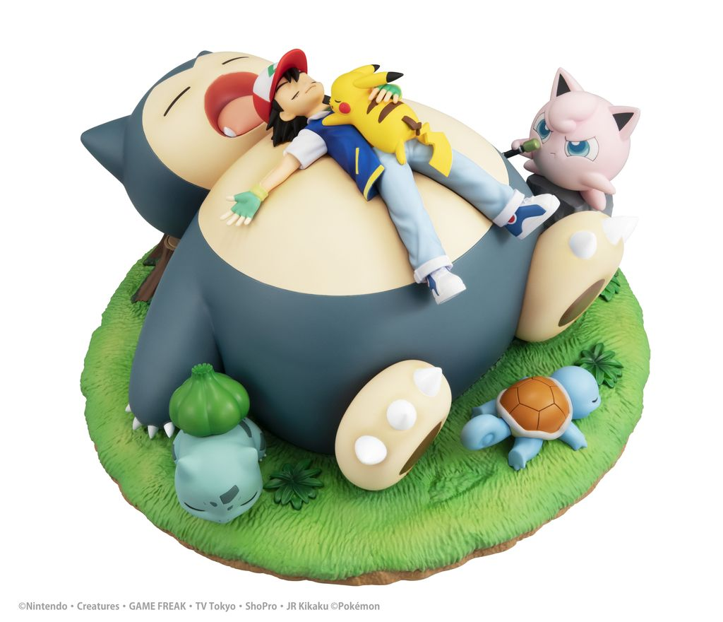 gem series pokemon bedtime with snorlax figure 2