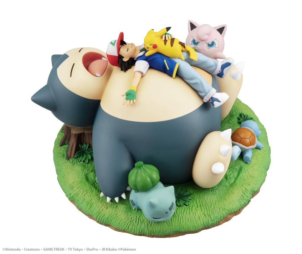 gem series pokemon bedtime with snorlax figure 3