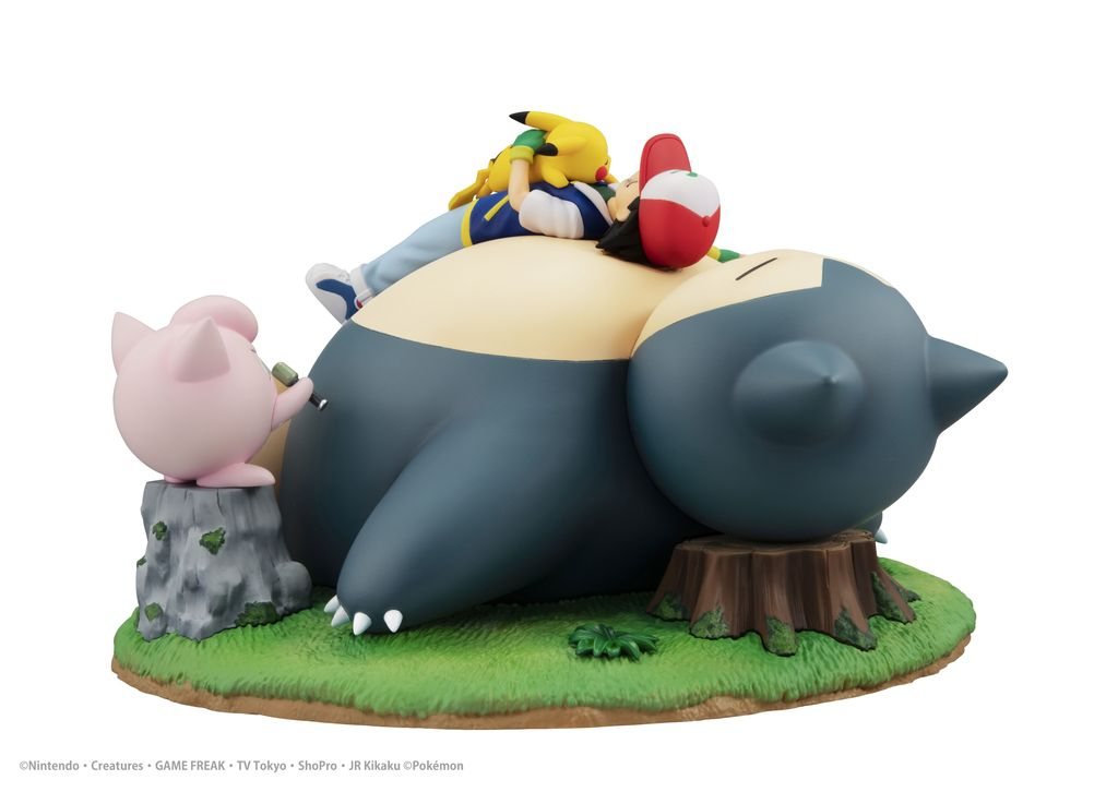 gem series pokemon bedtime with snorlax figure 4
