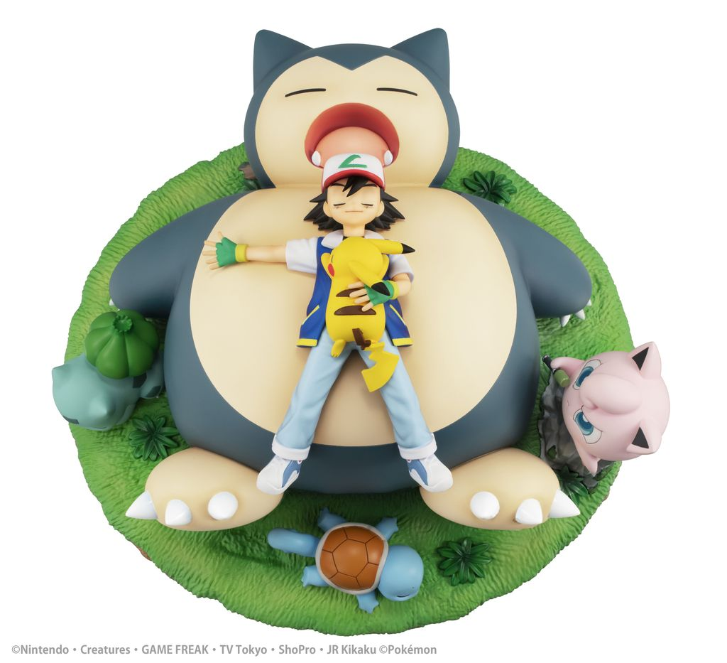 gem series pokemon bedtime with snorlax figure 5