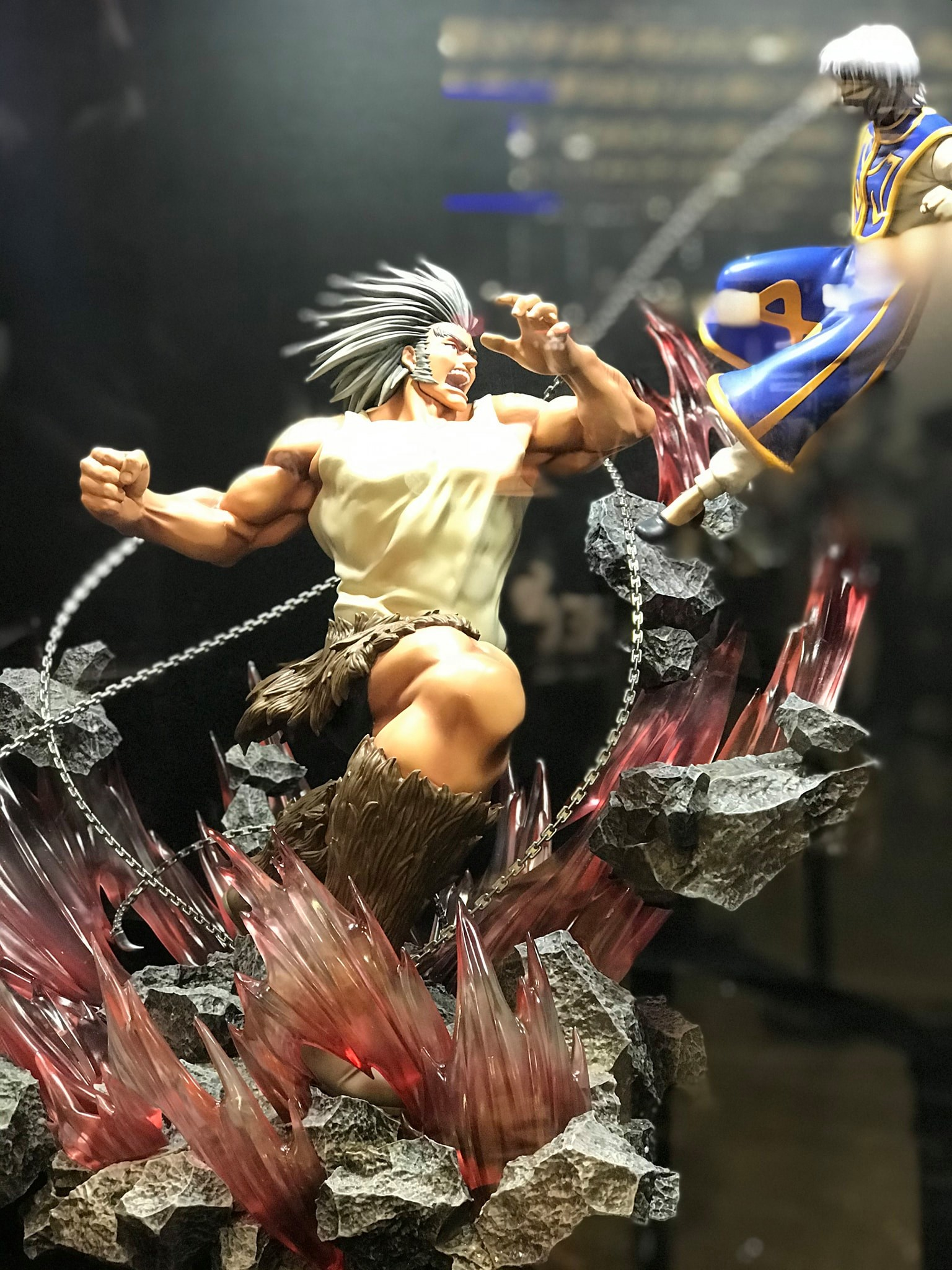 Hex Collectibles Kurapika vs Uvogin Statue