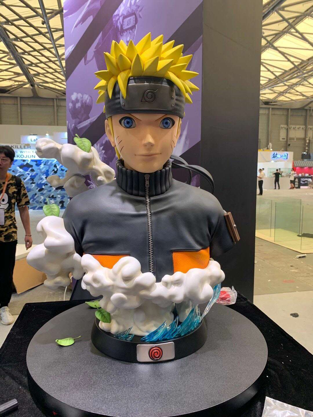 Hex Collectibles Lifesize Naruto Uzumaki Bust 2