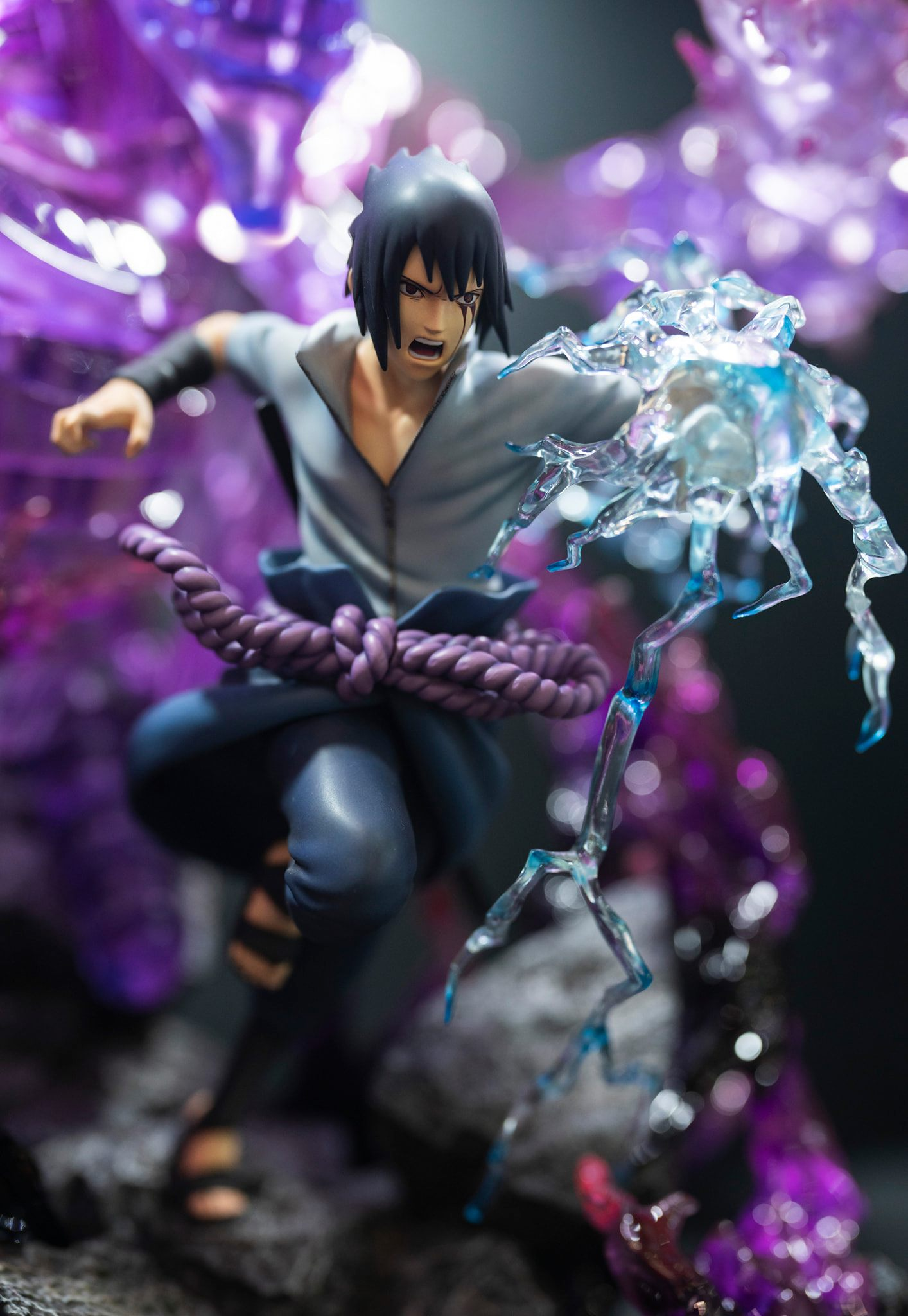 Hex Collectibles 1/8 Scale Sasuke Uchiha Susanoo Statue