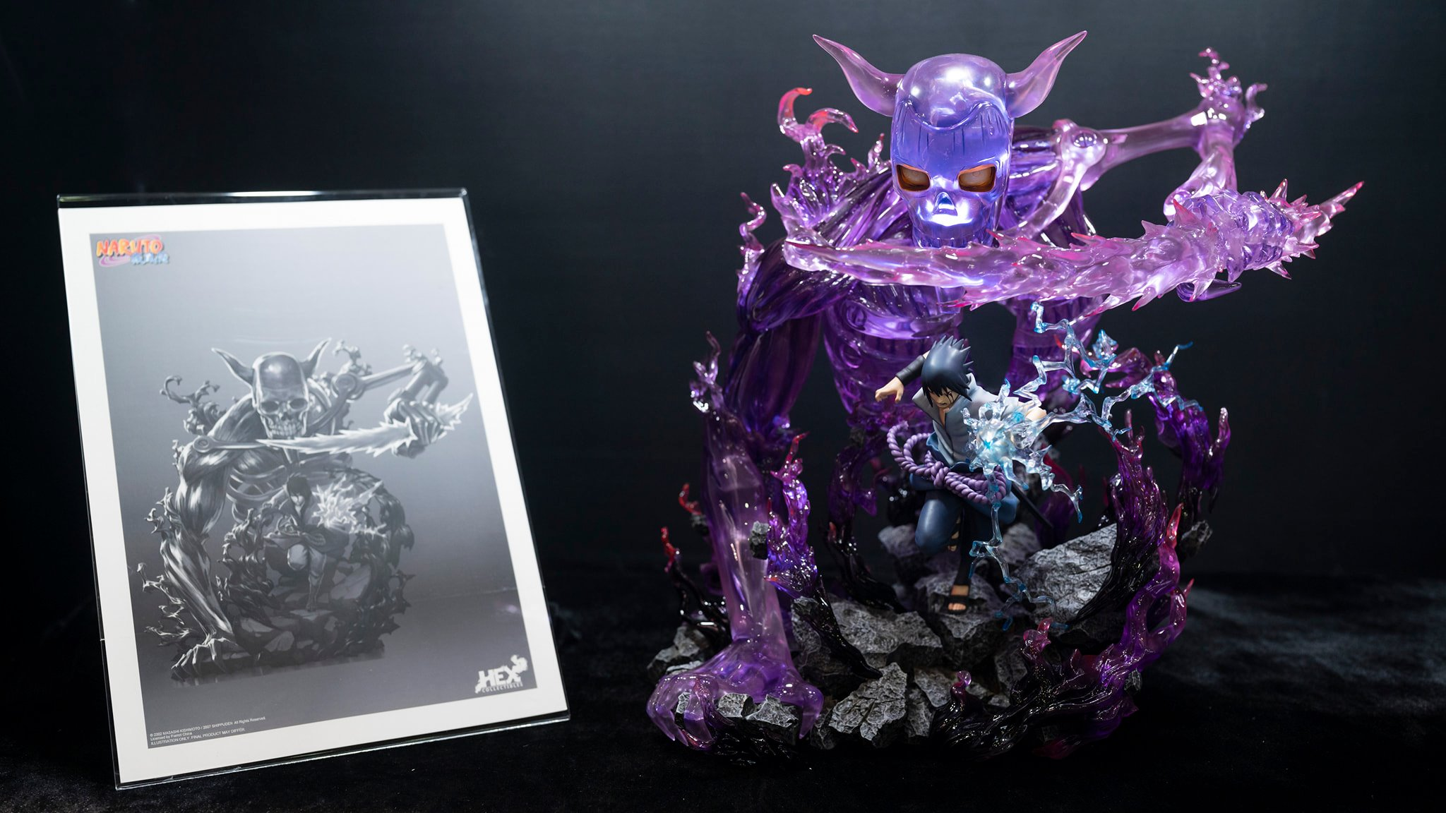 Hex Collectibles 1/8 Scale Sasuke Uchiha Susanoo Statue 2