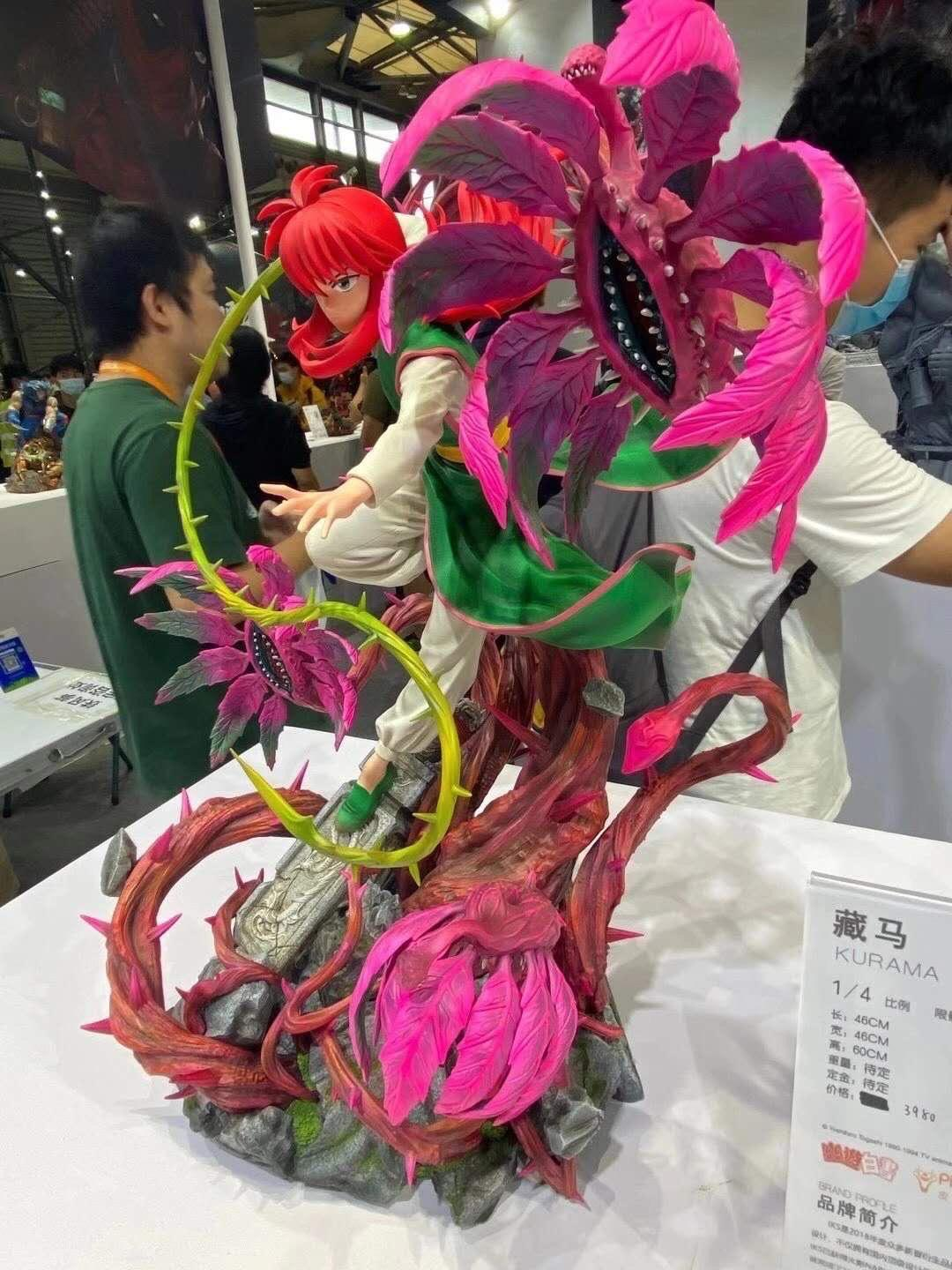 Iron Kite Studio 1/4 Scale Kurama Statue 2