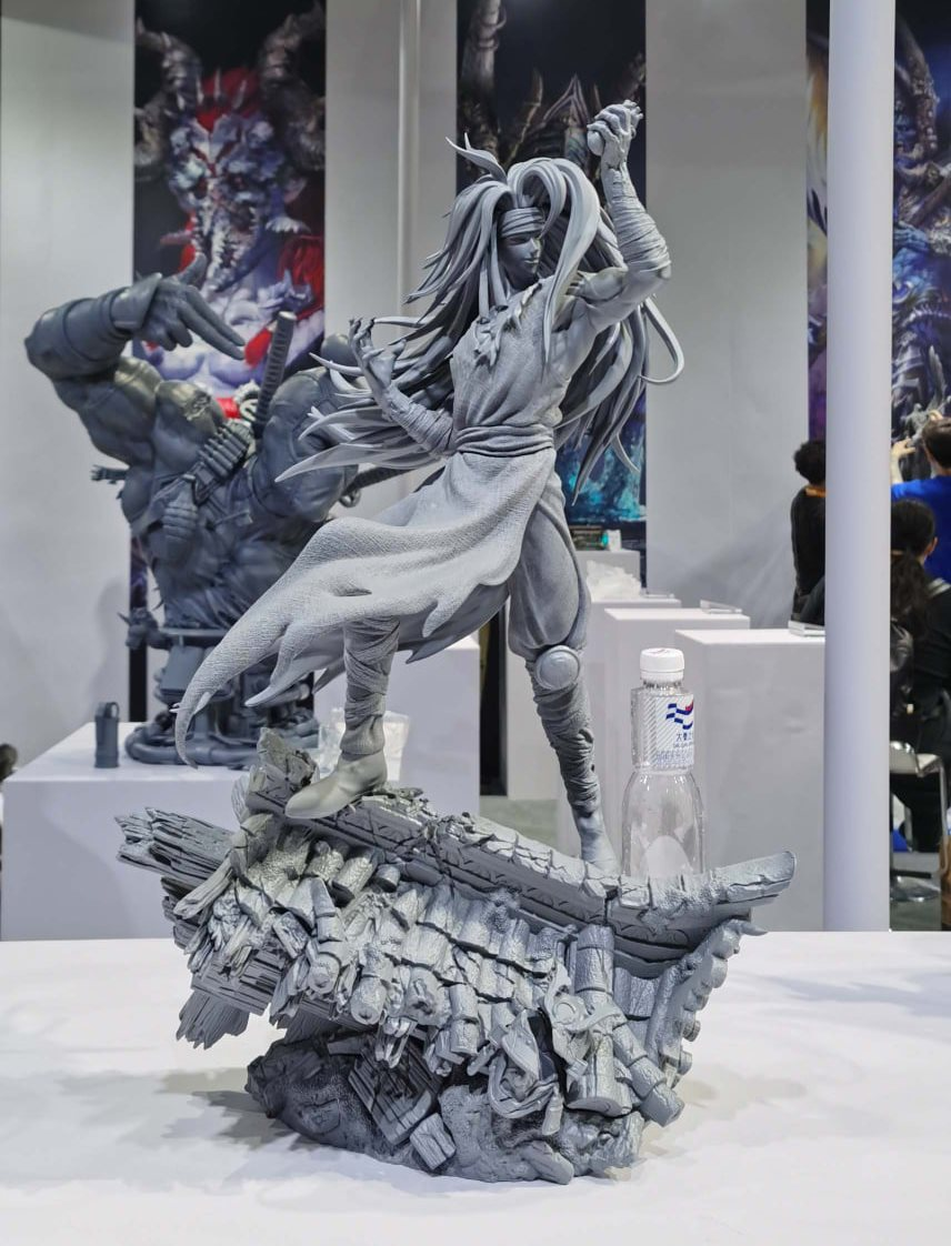 Iron Kite Studio 1/4 Scale Raizen Statue