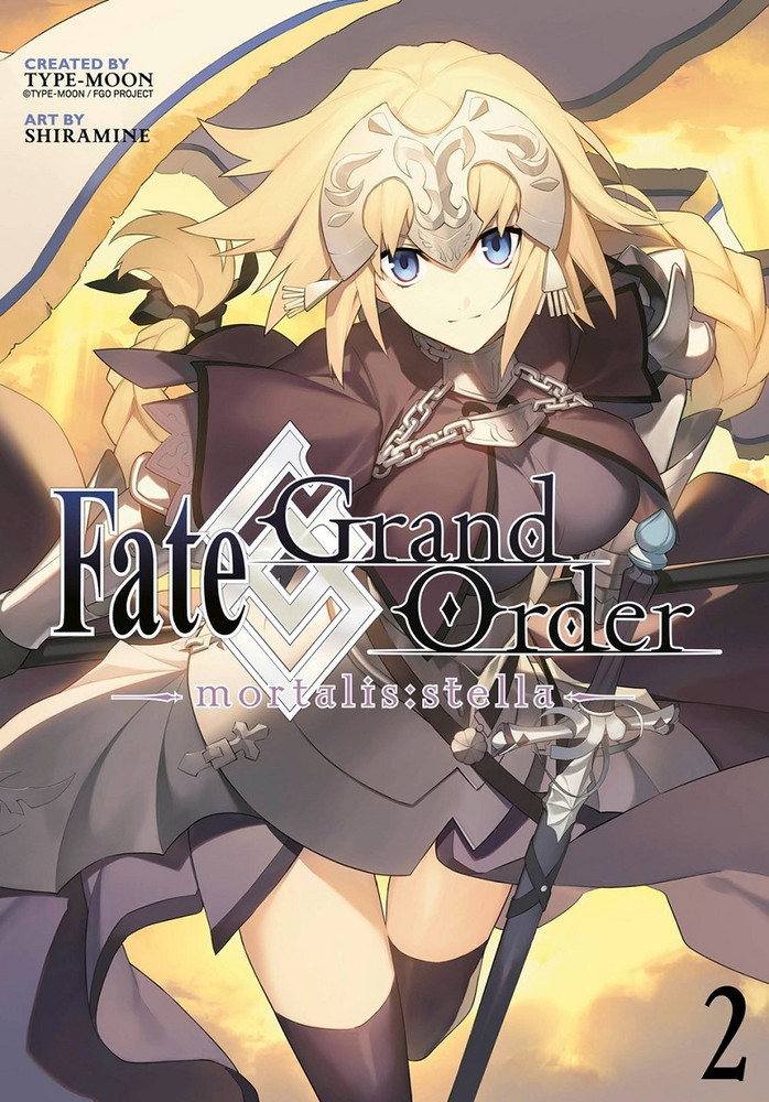 Fate/Grand Order Mortalis:stella, Volume 2 (Manga)
