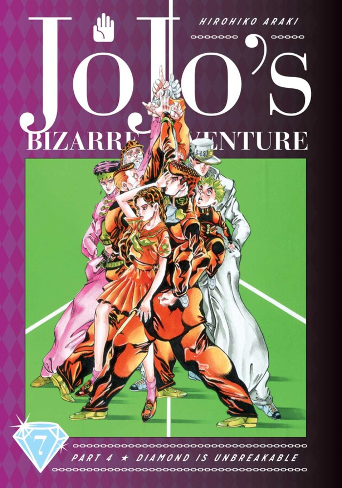 JoJo's Bizarre Adventure Part 4 Diamond Is Unbreakable, Volume 7 (Hardcover)