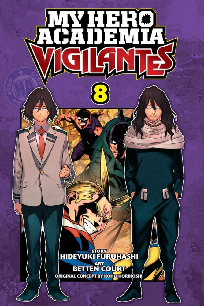 My Hero Academia Vigilantes, Volume 8