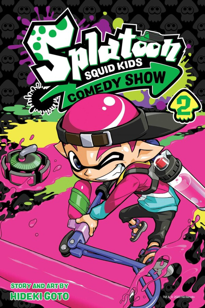 Splatoon Squid Kids Comedy Show, Volume 2