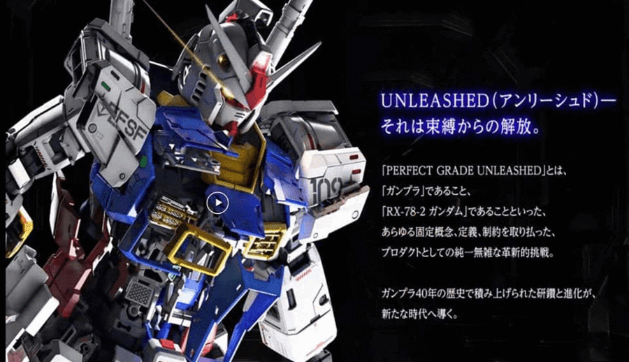 Perfect Grade RX-78-2 Unleashed 2.0