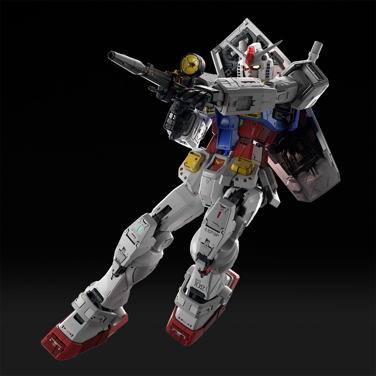 Perfect Grade RX-78-2 Unleashed 2.0 Kit 11