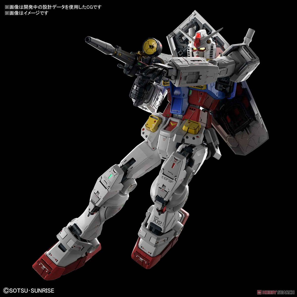 Perfect Grade RX-78-2 Unleashed 2.0 Kit 5