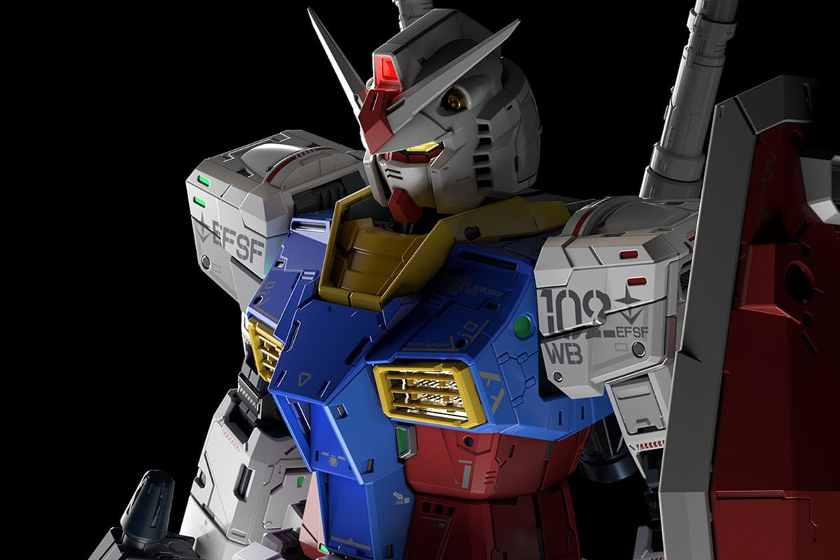 Bandai Spirits Showcase the PG 1/60 RX-78-2 Unleashed 2.0
