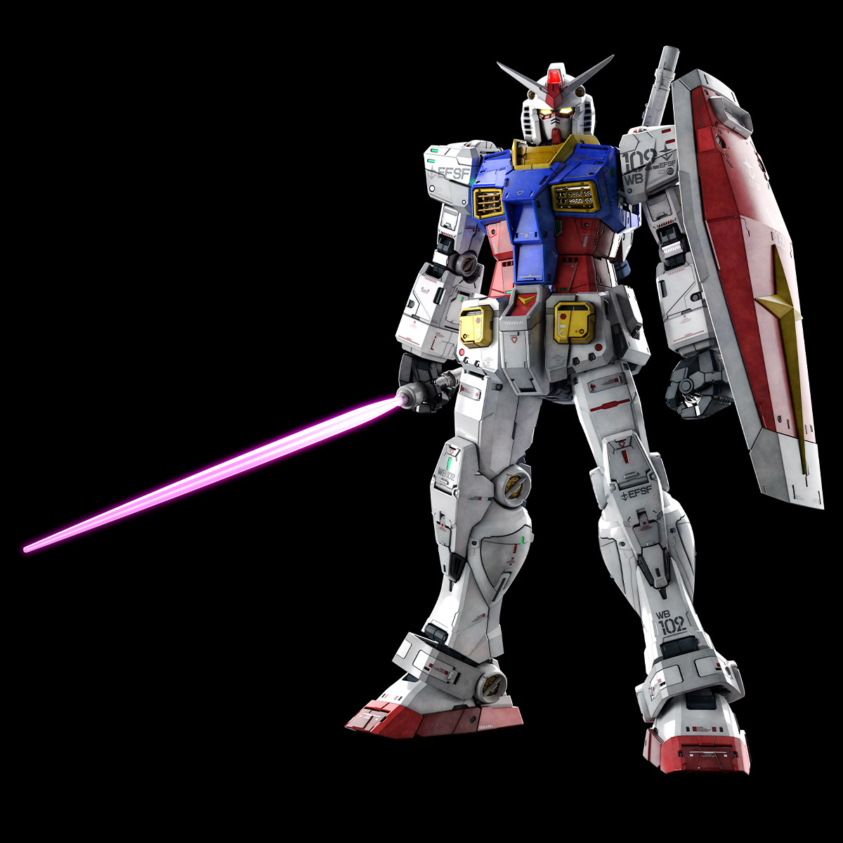 Perfect Grade RX-78-2 Unleashed 2.0 Kit 1