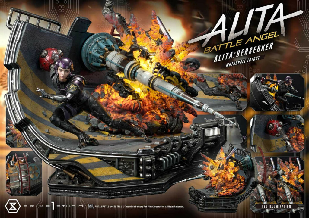 Prime 1 Studio Premium Masterline Alita Battle Angel - Promo Detail