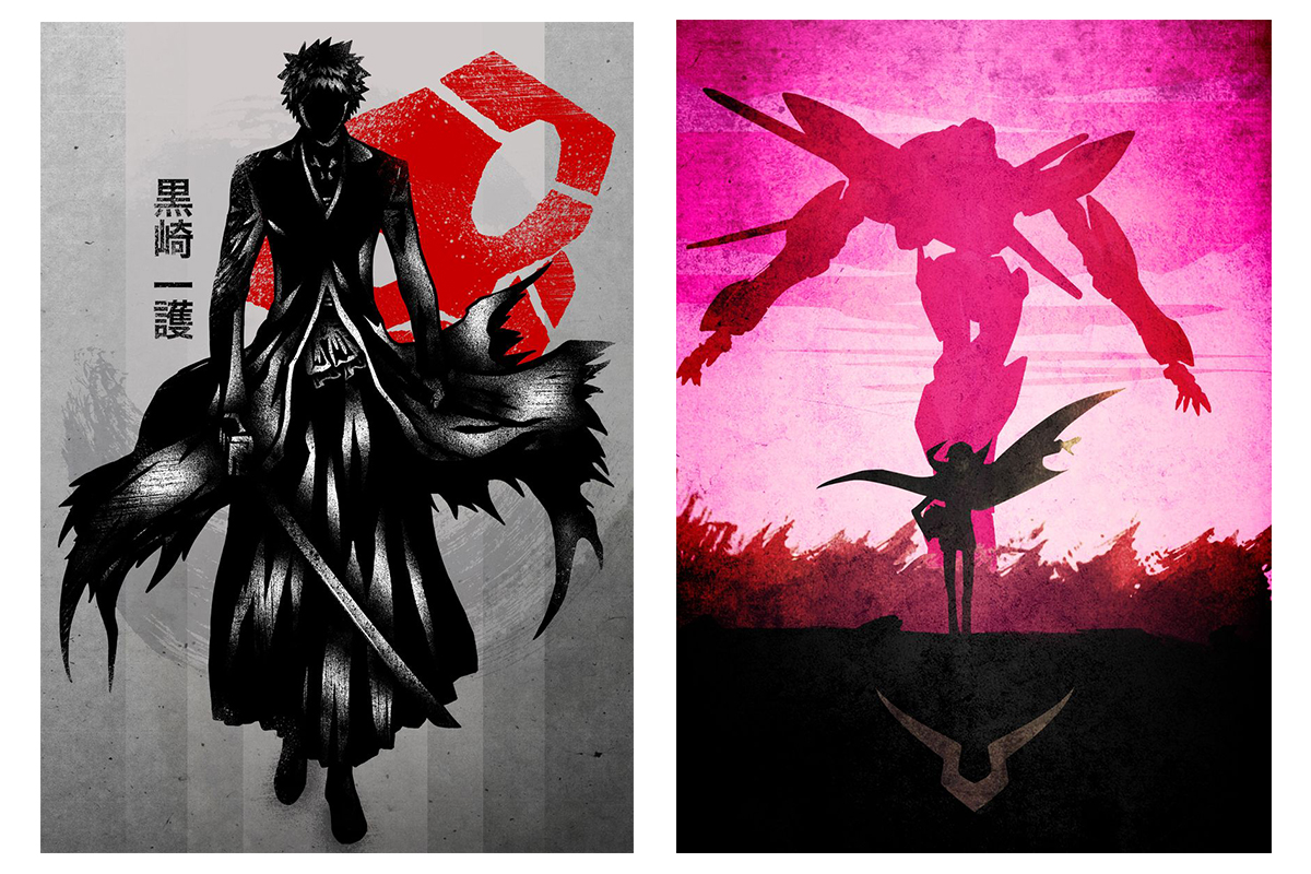 Best Gifts for Anime Lovers - Displate Anime Posters