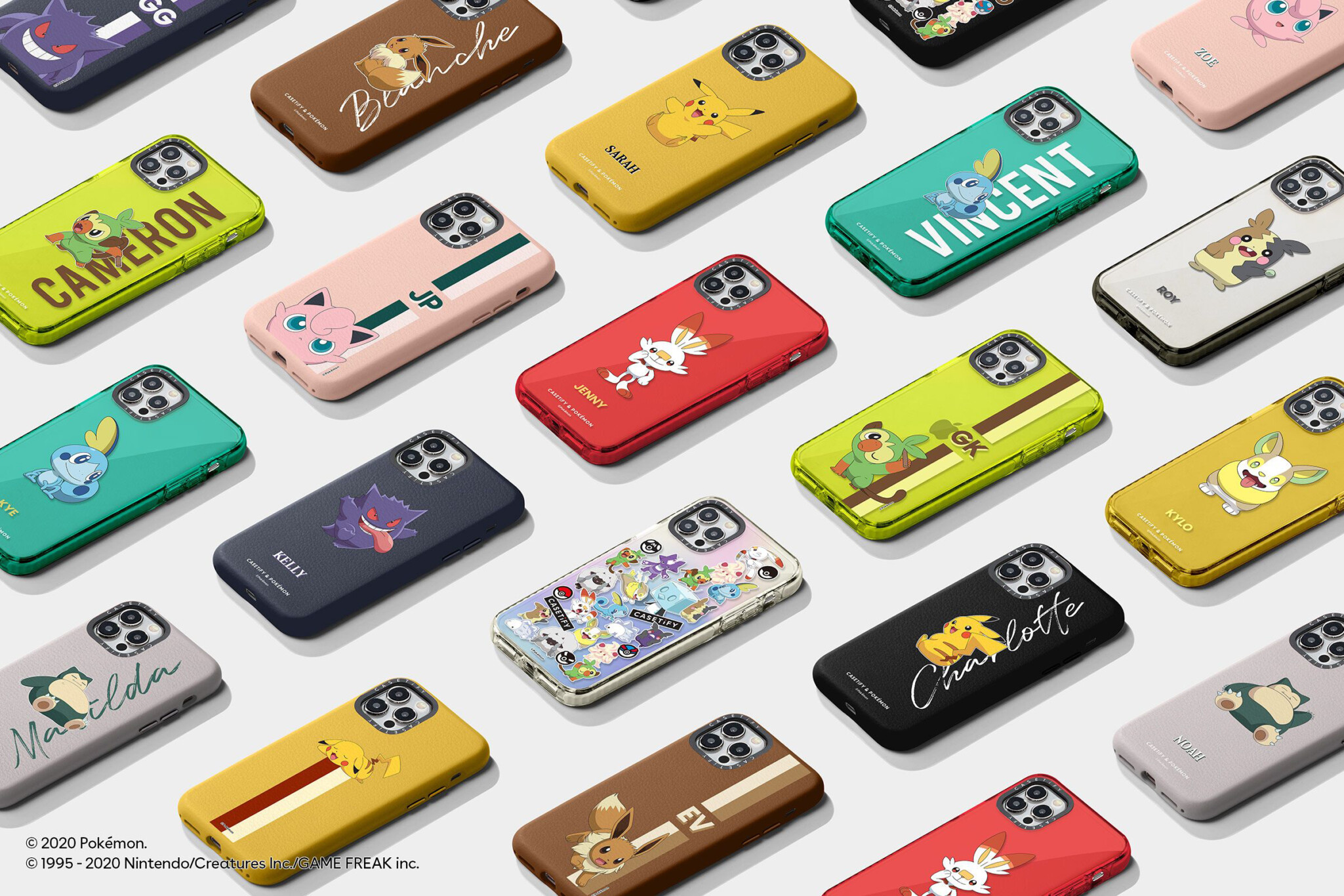 Pokemon and Casetify Team Up for 3 New Drops 2020