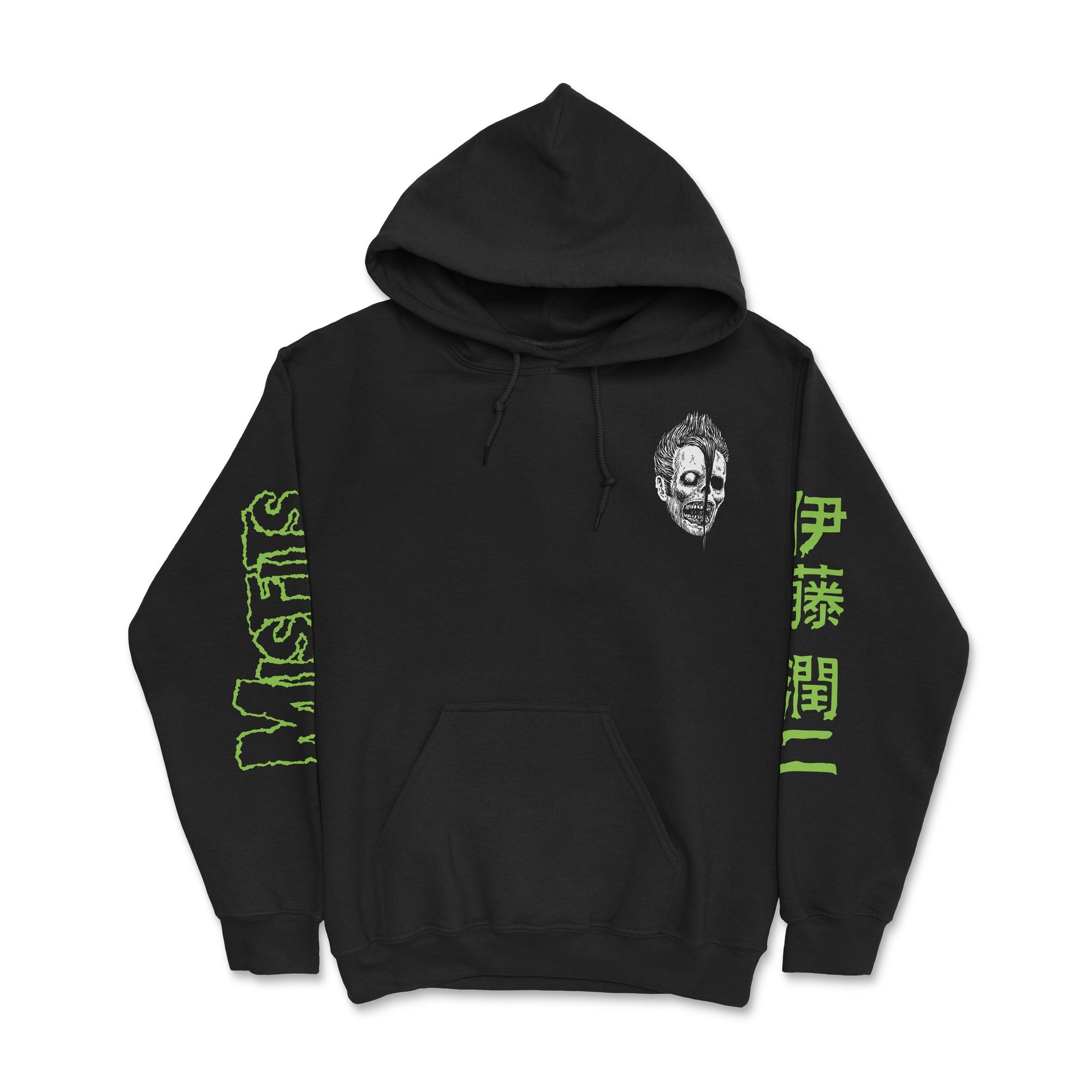 CR Loves Misfits x Junji Ito Collection Hoodie Front