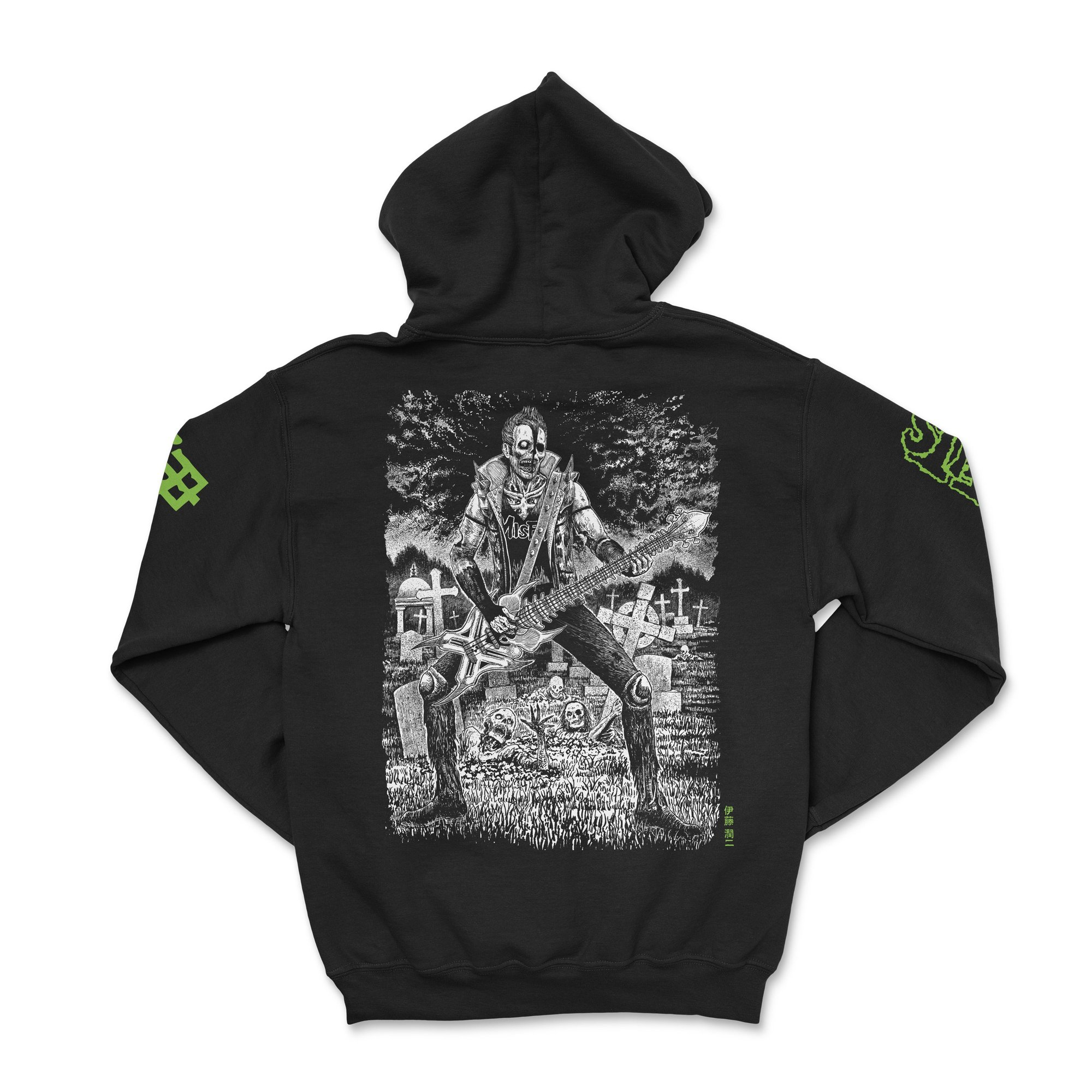 CR Loves Misfits x Junji Ito Collection Hoodie Back