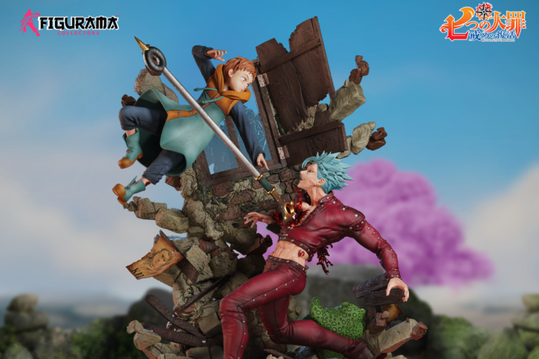 Figurama Reveal Upcoming Seven Deadly Sins Statue of Ban vs King