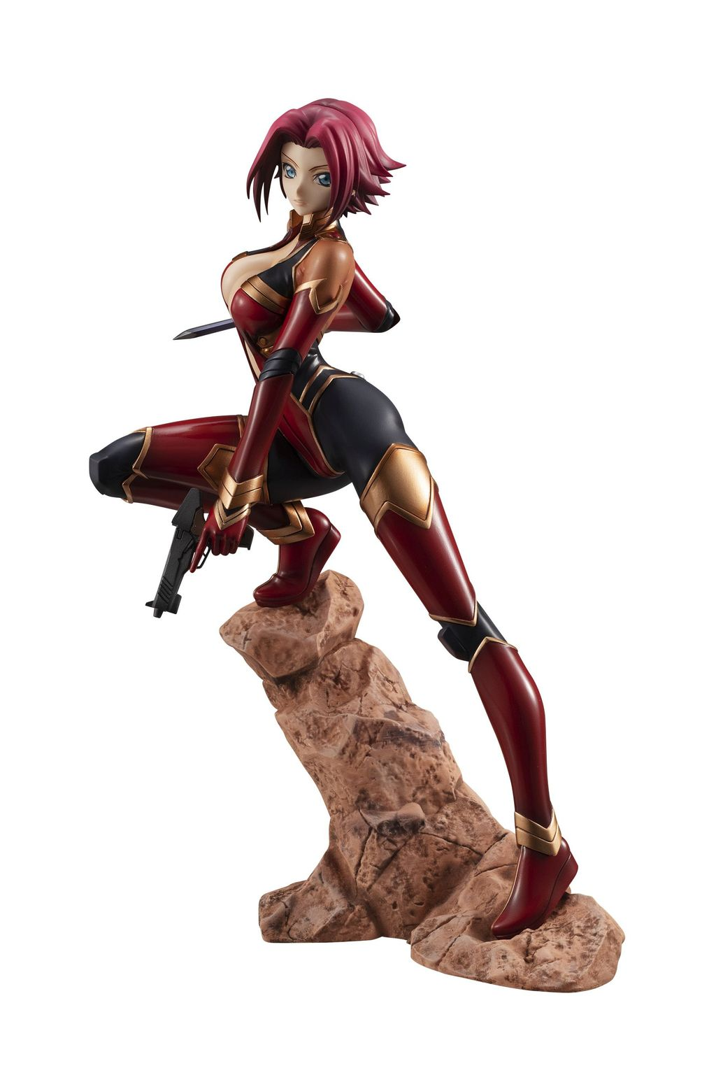G.E.M. Series: Code Geass: Lelouch of the Rebellion Kallen Kozuki Pilot Suit Ver. 3