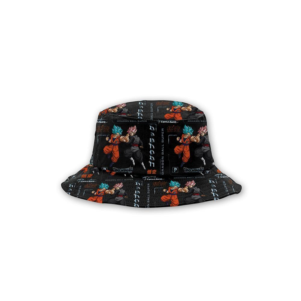 Primitive x Goku Black Rosé Capsule Collection Goku Versus Bucket Hat